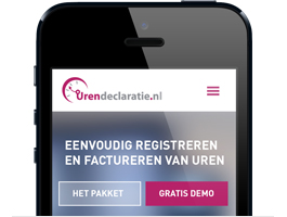 Urendeclaratie Iphone App
